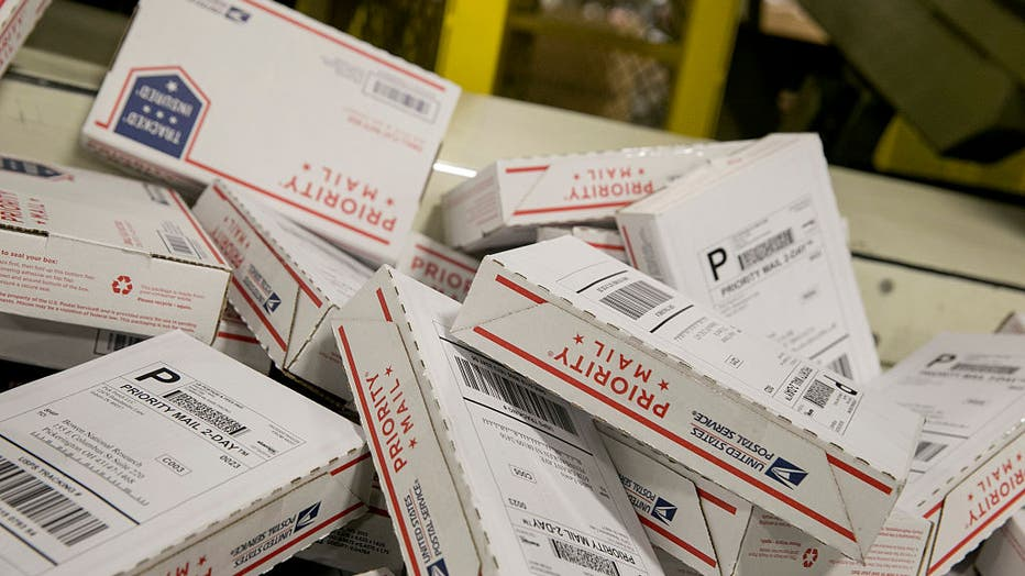 US Postal Service Experiences Busiest Day Of The Year As Holidays Approach