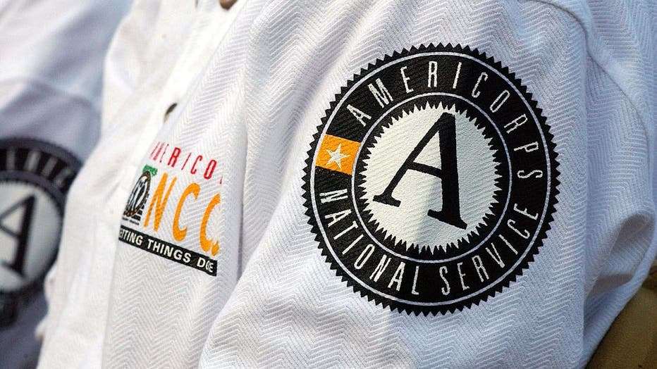 AMERICORPS GRADUATION--One hundred and thirty-four members o
