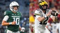 Michigan vs Michigan State set for Noon on FOX