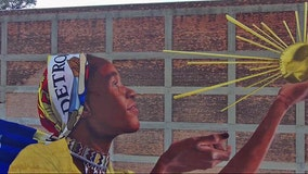 Detroit celebrates 100th mural as part of City Walls Project
