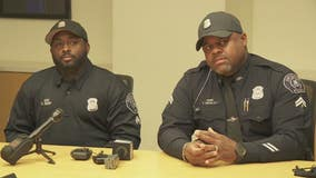 Detroit police officers save runner who suffered cardiac arrest in Free Press marathon
