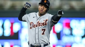 Goodrum, Tigers defeat Twins 10-7 in slugfest with 7 homers