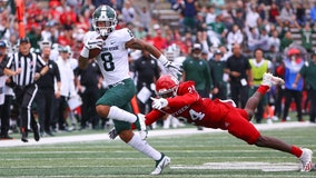 Nailor catches 3 TDs, No. 11 Michigan State tops Rutgers