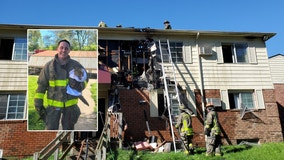 Firefighters rescue cat from burning Ann Arbor apartment building