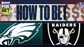 How to bet Eagles vs. Raiders, point spread, more