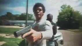 Shootout suspect that tipped off police with rap video, turns self in