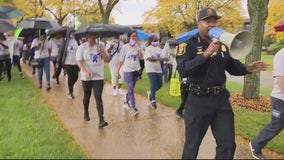 Southfield PD announce new strategy at Walk to Raise Awareness of Domestic Violence