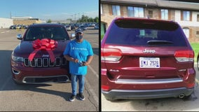 Gifted car stolen in Southfield, thief caught on camera