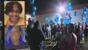 Over 100 family and friends hold vigil honoring hit and run victims