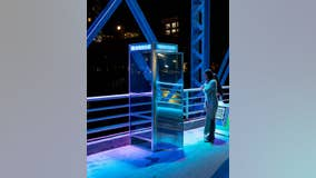 Old phone booth scores top award at ArtPrize in Grand Rapids