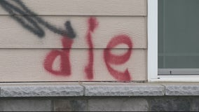 """Roseville church defaced by Swastikas, the word """"die,"""" and other imagery"""