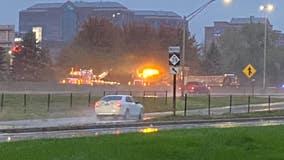 Southfield Freeway reopens after jackknifed semi blocks traffic