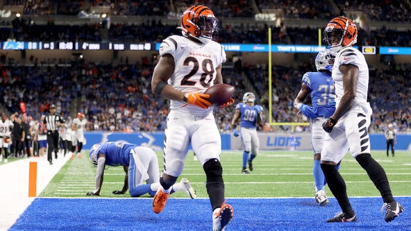 Joe Burrow throws 3 TDs as Bengals rout winless Lions 34-11
