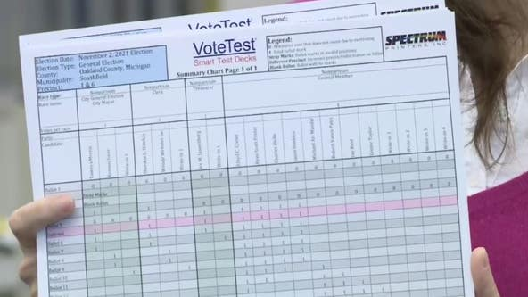 Oakland County clerk running tests to ensure accuracy for Election Day