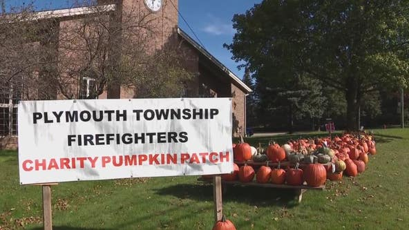 Plymouth Fire Department pumpkin patch goes to help those in need