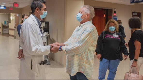 Prayers answered: Pastor who survived COVID gets double lung transplant