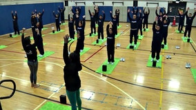 CPD utilizing yoga to encourage officer wellness, keep streets safe