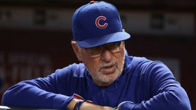 Cardinals beat Cubs 9-0 in Maddon's last game with Chicago