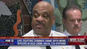 CPD to fight summer crime with more officers in high-crime areas, CTA stations