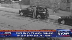 Police searching for vandal smearing feces on Chicago cars and homes