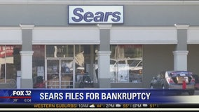Sears files for Chapter 11 amid plunging sales