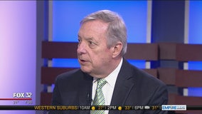 Durbin responds to Trump's criticism of Chicago violence