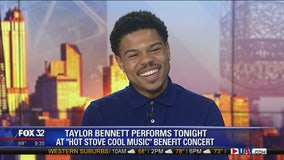 Taylor Bennett to perform at Hot Stove Cool Music benefit