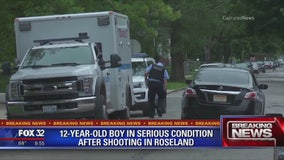 12-year-old boy seriously wounded in Roseland shooting