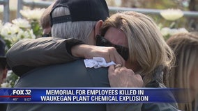 Mourners gather to honor 4 killed in Illinois factory explosion