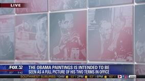 Artist created nearly 3,000 paintings of Obama's presidency