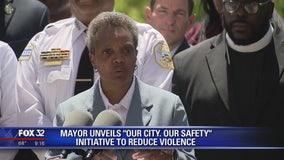 Mayor Lori Lightfoot unveils initiative to reduce Chicago violence