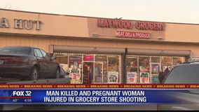 1 killed, 1 wounded in Maywood grocery store shooting