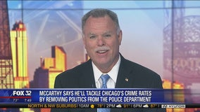McCarthy: I'll remove politics from CPD to lower crime rates