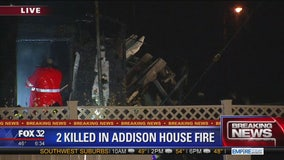 2 killed in Addison house fire