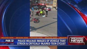 Hit-and-run driver critically injures teen bicyclist in Ravenswood
