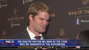 Former Bear Greg Olsen a finalist for Walter Payton Man of the Year Award