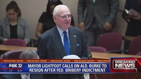 Mayor Lightfoot demands resignation of indicted Alderman Ed Burke