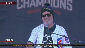 Joe Maddon speaks at Cubs World Series rally