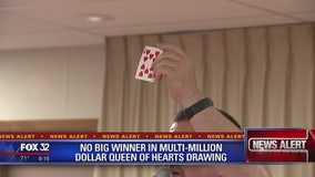 No big winner in multi-million dollar Queen of Hearts drawing