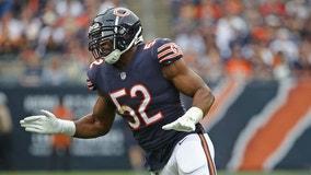 Chicago Bears star Khalil Mack prepares for reunion vs. Raiders