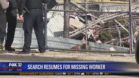 Search resumes for possible victim in Waukegan plant explosion