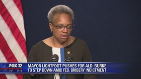 Lightfoot: Letter being sent to ask Ald. Burke to resign