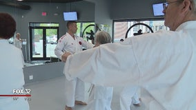 Chicago hospital using martial arts to treat Parkinson's disease