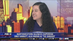 Northwestern's infamous 'Shrieker' joins us live on Good Day Chicago