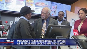 McDonald's looking to hire thousands this summer in Chicago area