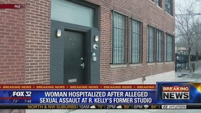 Woman hospitalized for sexual assault at what she thought was R. Kelly's former studio