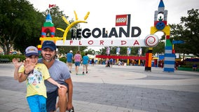 In less than two weeks, a father took his son to all Legoland parks in the world