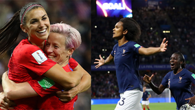 Ticket prices for the US vs. France Women's World Cup quarterfinal match reach as high as $11K