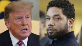 Trump tweets about Smollett ahead of busy day in Japan