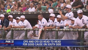 CPD and CFD play baseball for a good cause on South Side